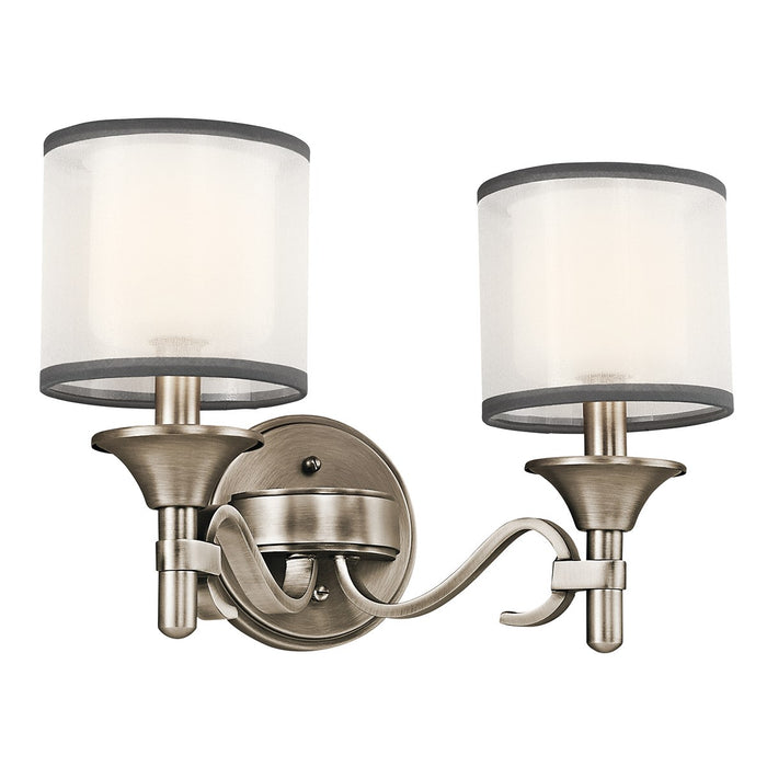 Lacey 2 Light Vanity Light Antique Pewter