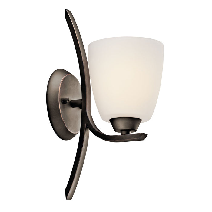 Granby 1 Light Wall Sconce Brushed Pewter