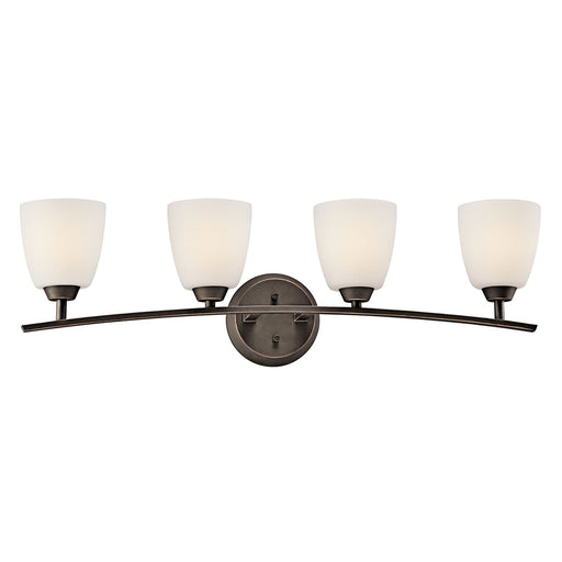 Granby 4 Light Vanity Light Brushed Pewter