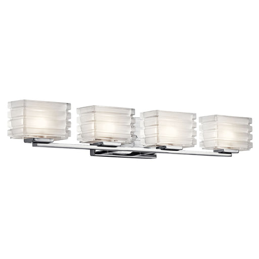 Bazely 4 Light Halogen Wall Sconce Chrome