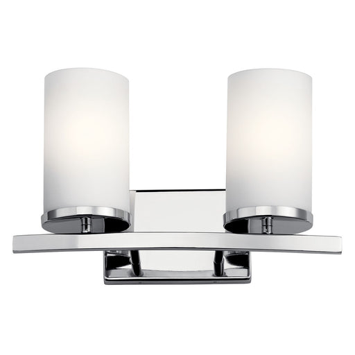 Crosby(TM) 2 Light Vanity Light