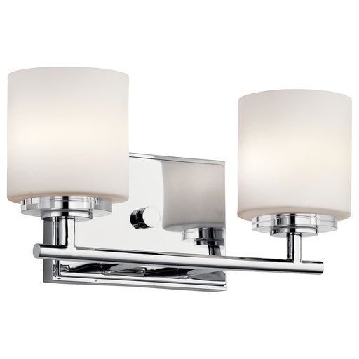 O Hara 2 Light Vanity Light Chrome