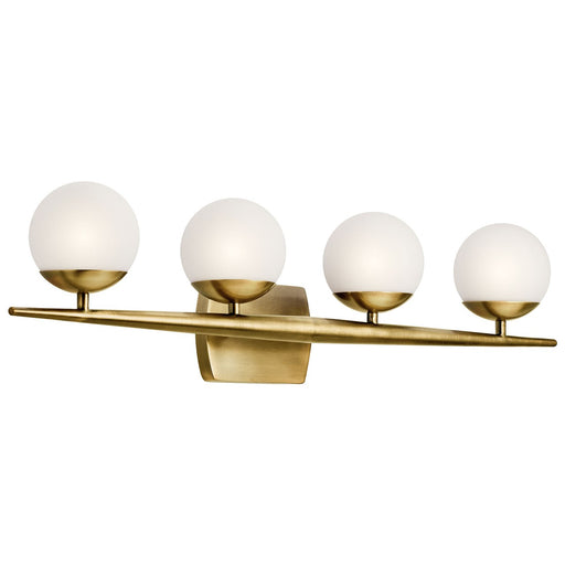 Jasper 4 Light Halogen Vanity Light Chrome