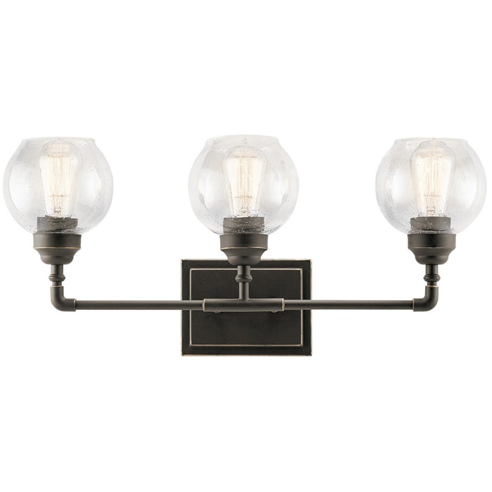 Niles 3 Light Vanity Light Antique Pewter