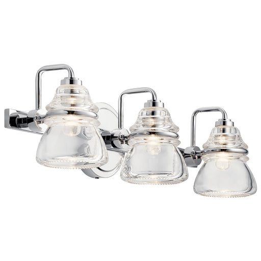Talland 3 Light Vanity Light Chrome