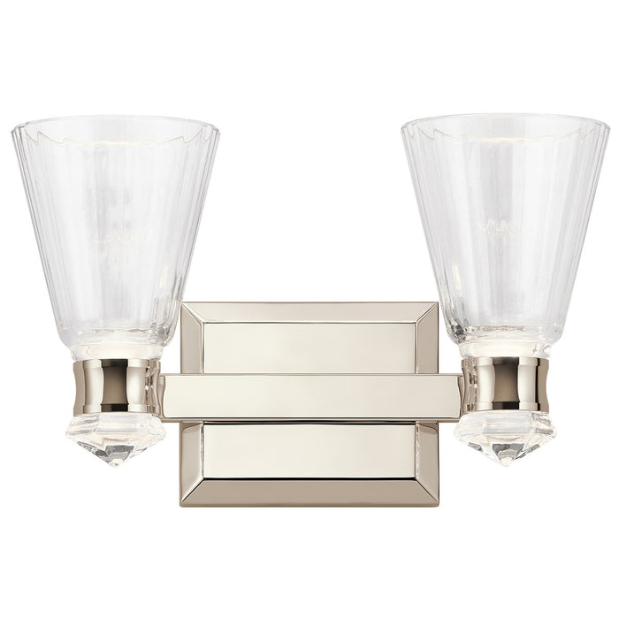 Kayva 14.5in. LED 4 Light Vanity Light