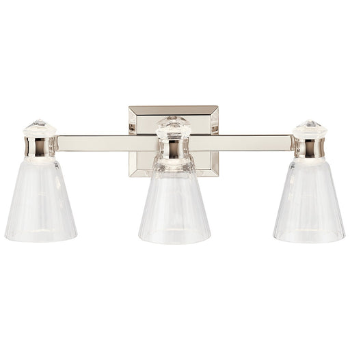 Kayva 24in. LED 6 Light Vanity Light