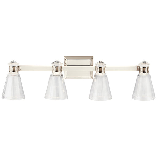 Kayva 33.5in. LED 8 Light Vanity Light