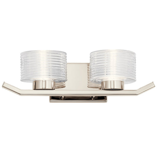 Lasus(TM) 2 Light LED Vanity Light Polished Nickel(TM)
