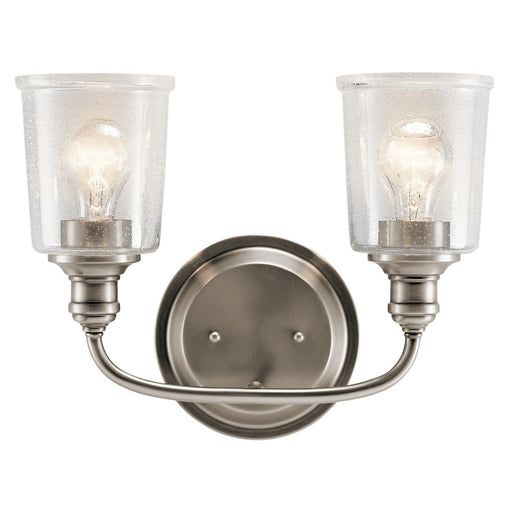 Waverly 2 Light Bath Light Classic Pewter