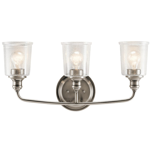 Waverly 3 Light Vanity Light Classic Pewter