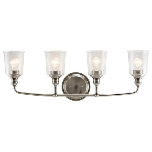 Waverly 4 Light Vanity Light Classic Pewter