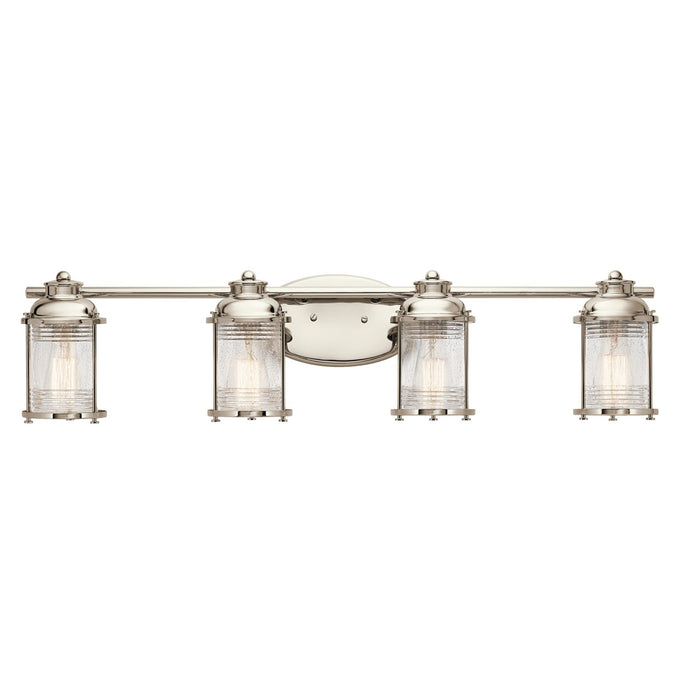Ashland(TM) Bay 4 Light Vanity Light Polished Nickel(TM)
