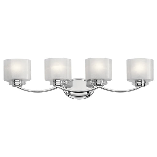 Archer 4 Light Vanity Light Chrome