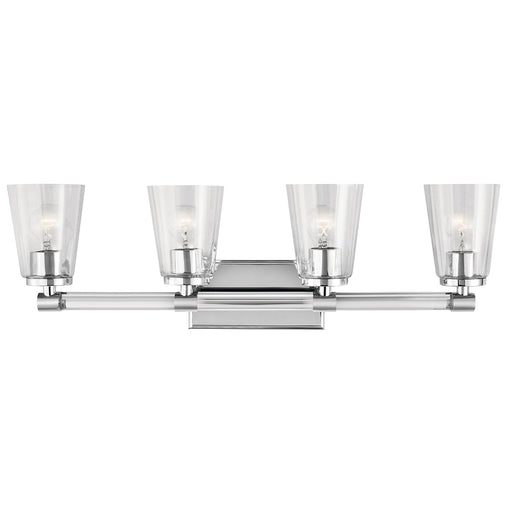 Audrea(TM) 4 Light Vanity Light Chrome