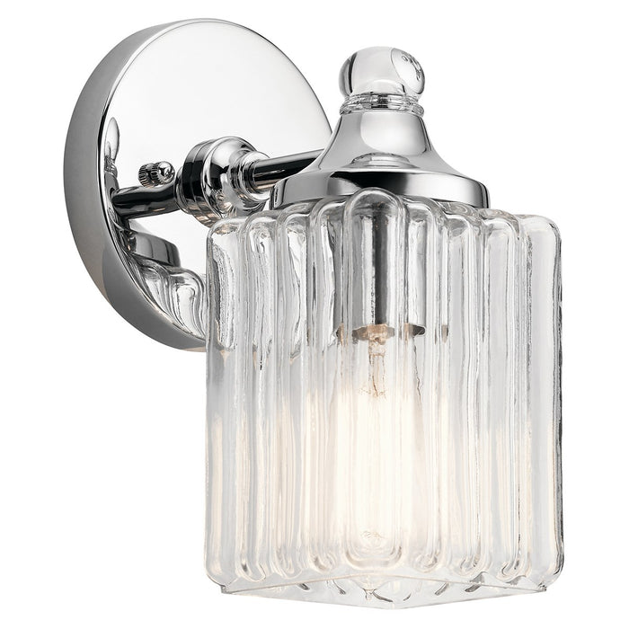 Riviera(TM) 1 Light Wall Sconce Chrome