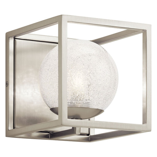 Karia 1 Light Wall Sconce Brushed Nickel