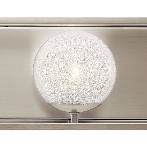Karia 3 Light Vanity Light Brushed Nickel