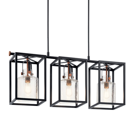 Kitner 3 Light Linear Chandelier