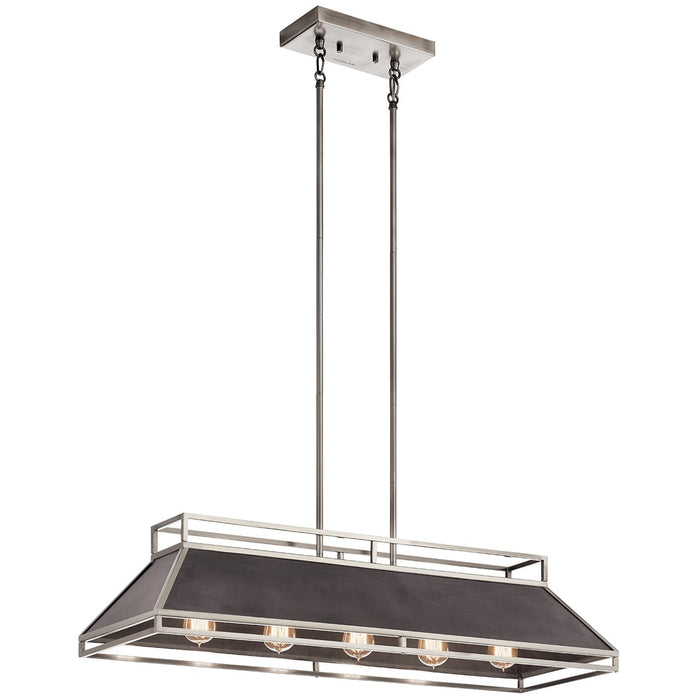 Grendel 5 Light Linear Chandelier