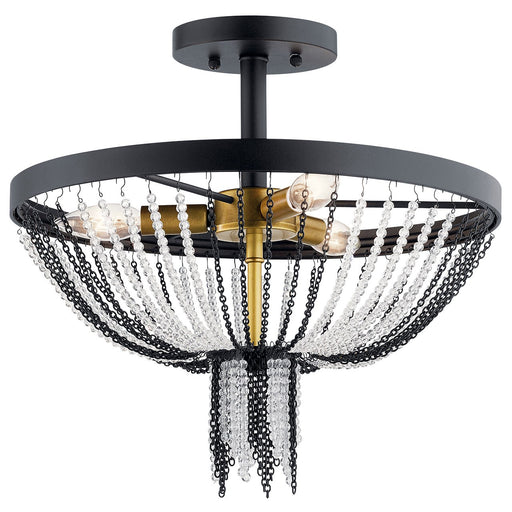 Alexia 3 Light Semi Flush