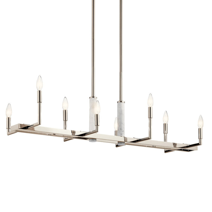 Laurent 8 Light Linear Chandelier
