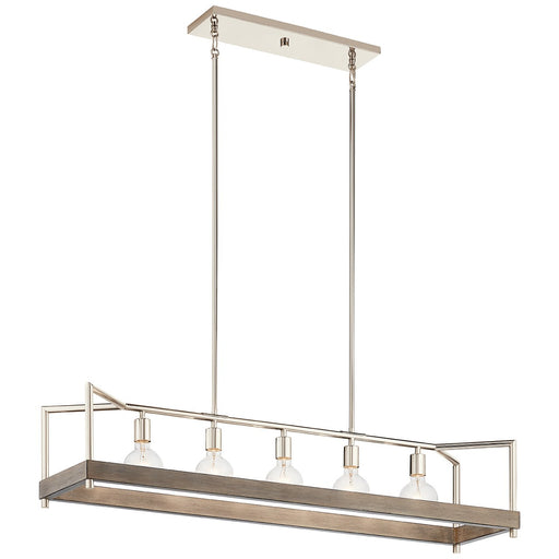 Tanis 5 Light Linear Chandelier