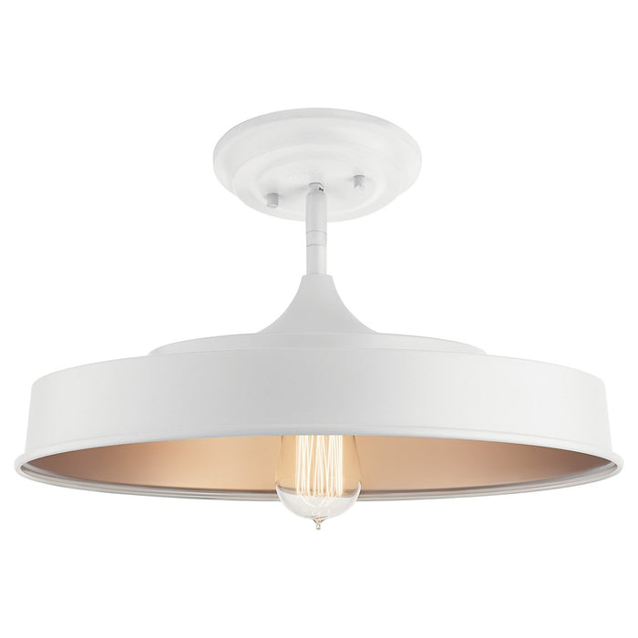 Elias 1 Light Semi Flush