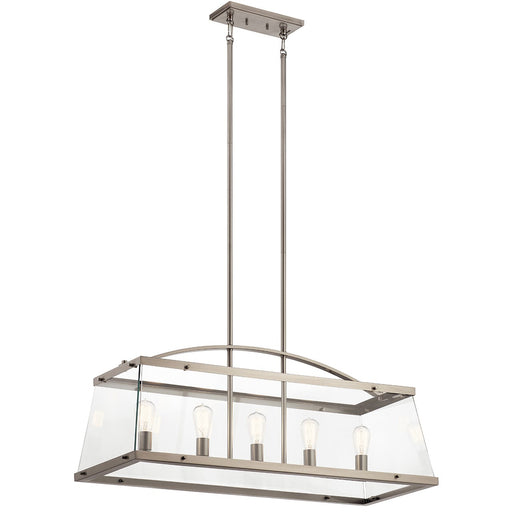 Darton 5 Light Linear Chandelier