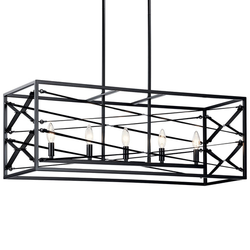 Sevan 5 Light Linear Chandelier