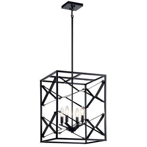 Sevan 4 Light Foyer Pendant