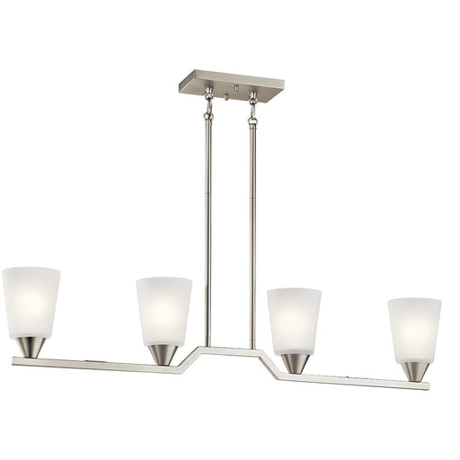 Skagos 4 Light Linear Chandelier