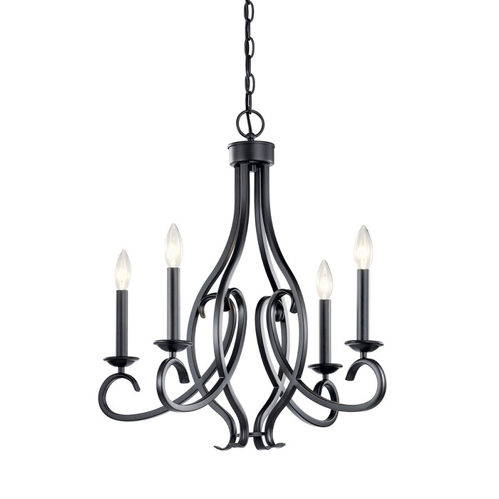 Ania 4 Light Chandelier
