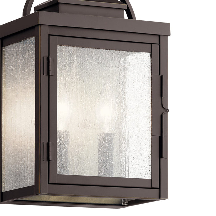 Carlson 2 Light Outdoor Wall
