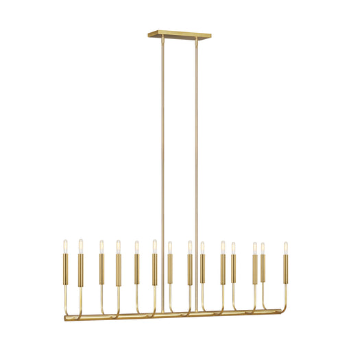 Brianna Fourteen Light Linear Chandelier