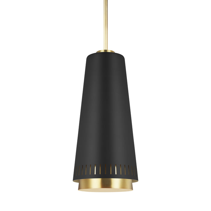 Carter Tall One Light Pendant