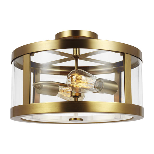 Harrow Two Light Semi Flush Mount