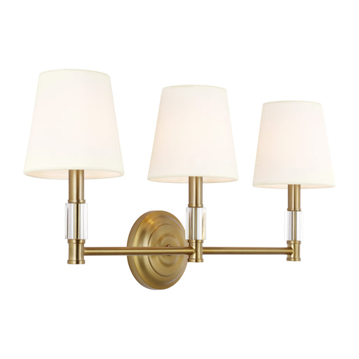 Lismore Three Light Vanity Strip