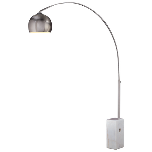 George's Reading Room™ - 1 Light Arc Floor Lamp Marble Base