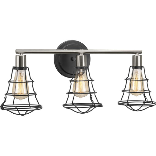 Gauge Collection Three-Light Bath & Vanity