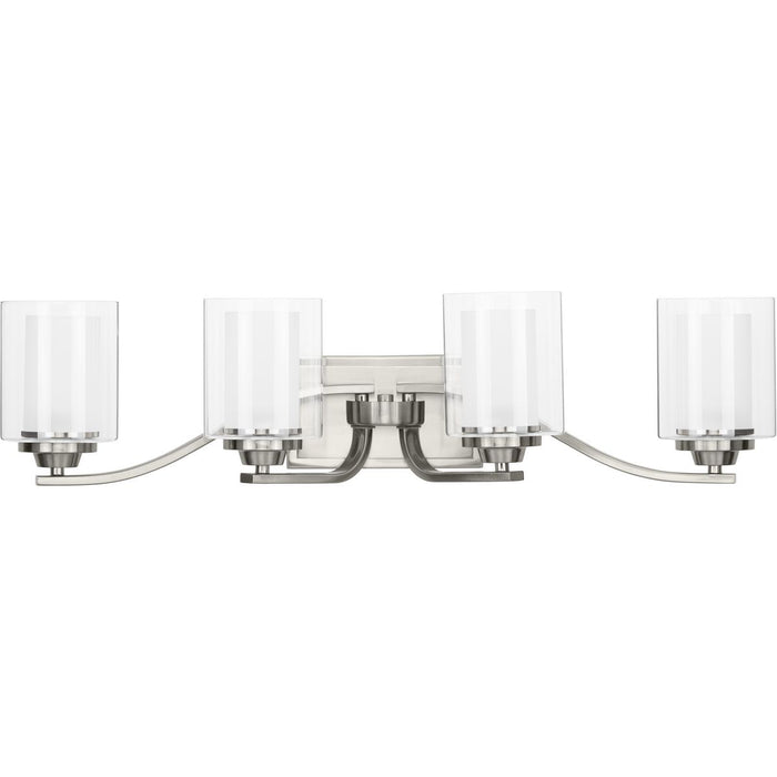 Kene Collection Brushed Nickel Four-Light Bath