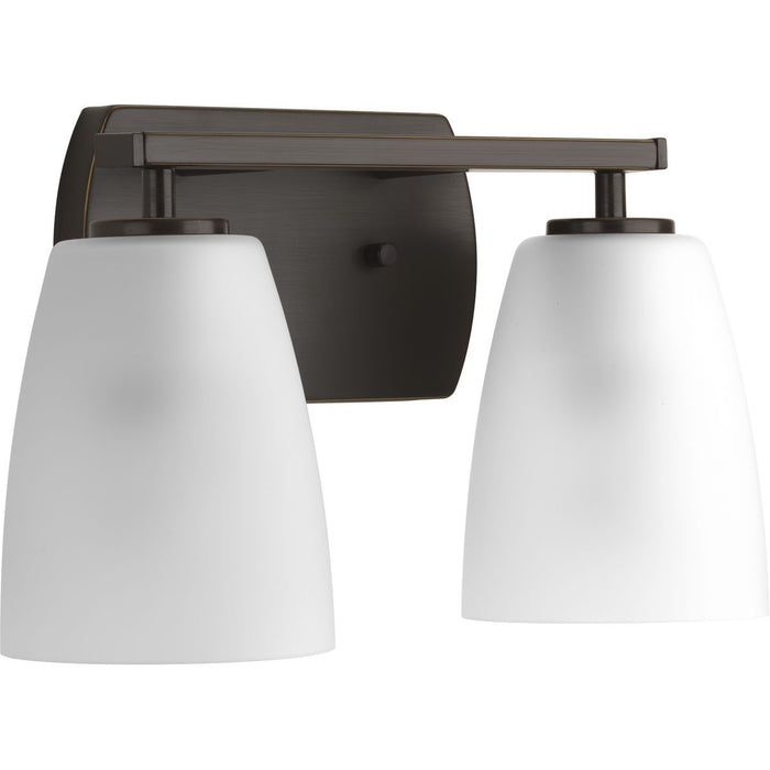 Leap Collection Two-Light Bath & Vanity