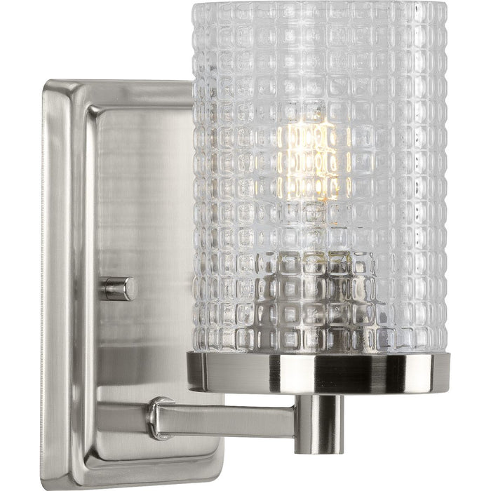 Fawcett Collection Brushed Nickel One-Light Bath
