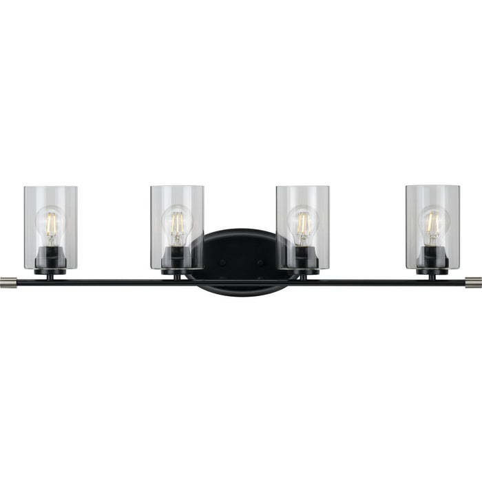 Riley Collection Brushed Nickel Four-Light Bath