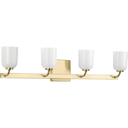 Moore Collection Brushed Nickel Four-Light Bath