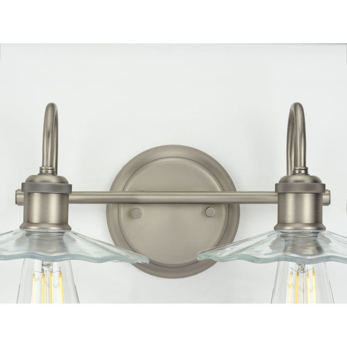 Fayette Collection Antique Nickel Two-Light Bath