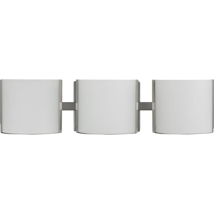 Arch LED Collection Brushed Nickel Three-Light LED Bath