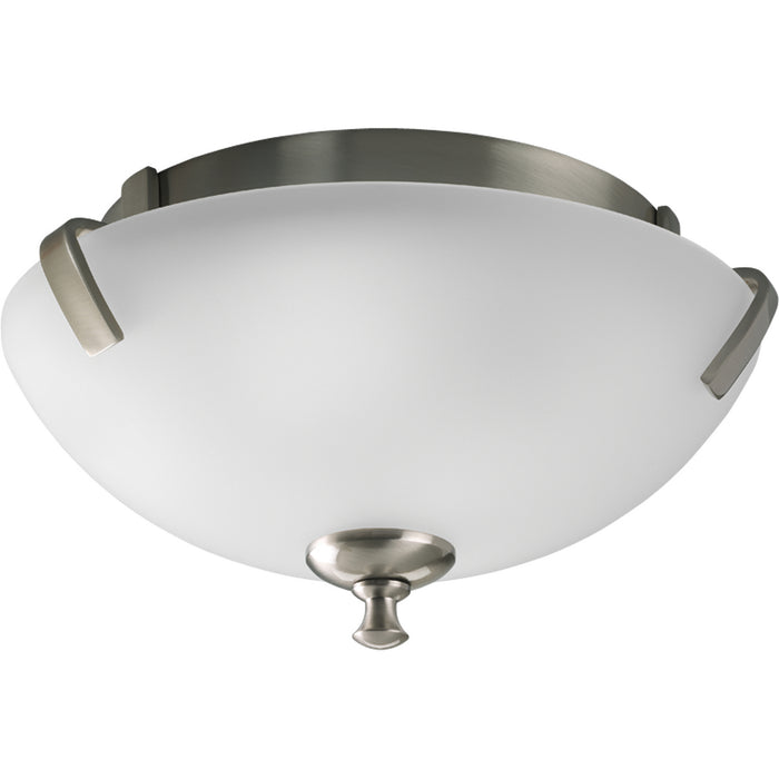 "Wisten Collection Two-Light 14"" Close-to-Ceiling"