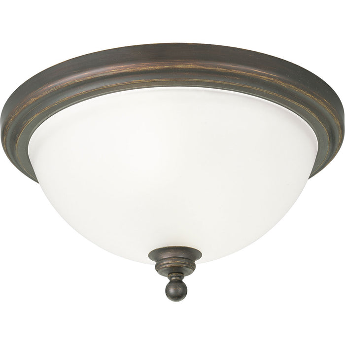 "Madison Collection Two-Light 15-3/4"" Close-to-Ceiling"