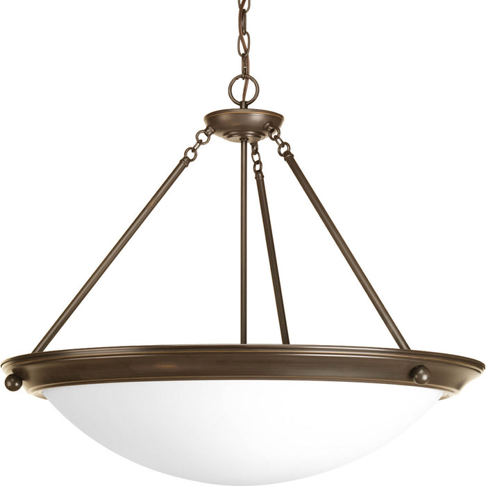 "Eclipse Collection Four-Light 27-3/8"" Pendant"